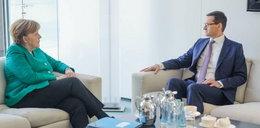 Spotkanie Morawiecki-Merkel. Jest spór