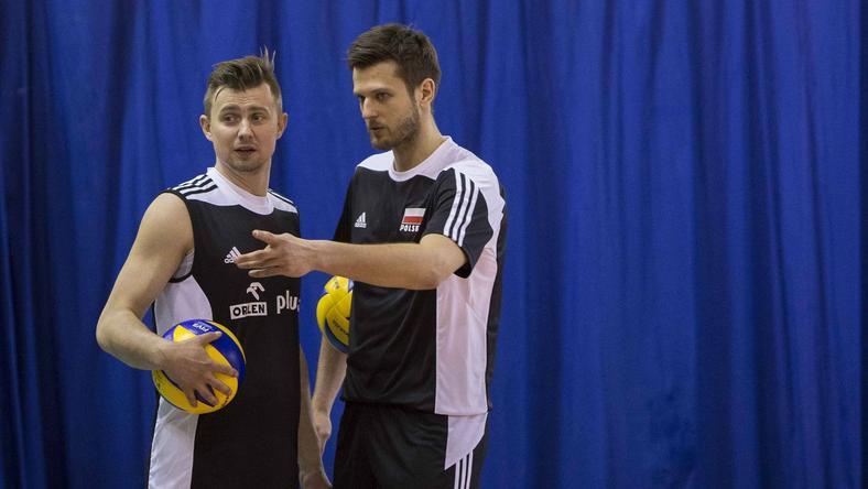 Krzysztof Ignaczak i Michał Winiarski