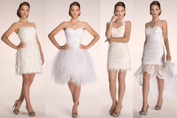 991b156b36 Krótkie sukienki ślubne. Suknie ślubne krótkie