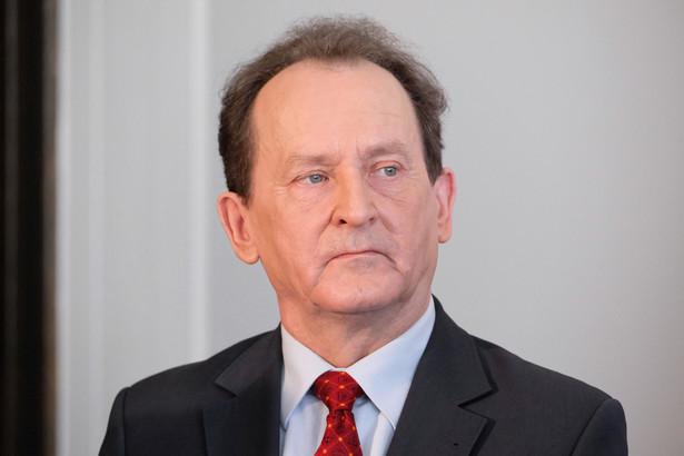 Włodzimierz Bernacki, pełnomocnik rządu ds. monitorowania wdrażania reformy szkolnictwa wyższego i nauki