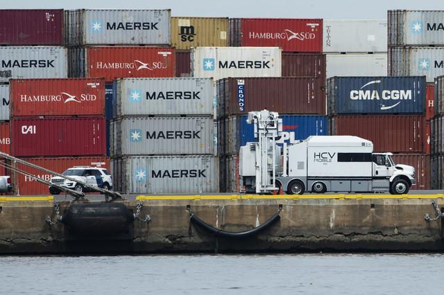 Zaplena kokaina sakrivenog u kontejnere u Filadelfiji