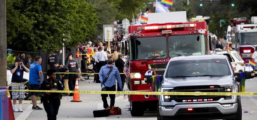 Groza na Paradzie Równości. Rozpędzona furgonetka wjechała w ludzi