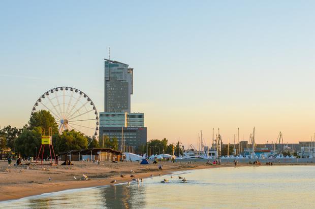 Plaża, Gdynia