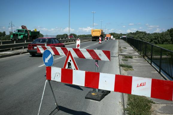 Trenutno jedini izlaz ka autoputu: Kaćki most
