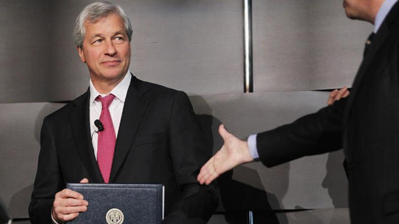 James Dimon,  JP Morgan CEO