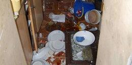Pijany mieszkaniec spowodował wybuch! Odkręcił butlę z ...