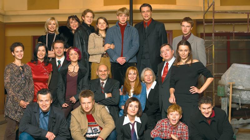 """Aktorzy """"Na Wspólnej"""" 15 lat temu"""