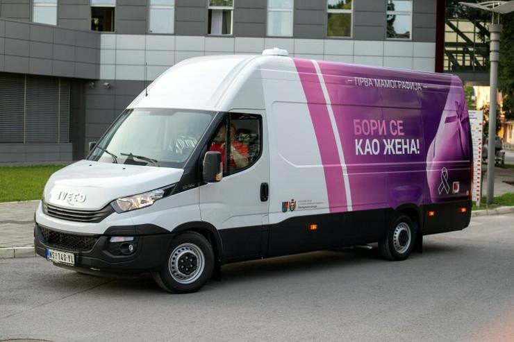 Mamografija, vozilo, Novi Sad