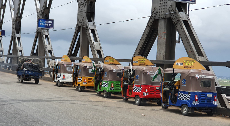 Bajaj is the most durable Keke, covers 5500 kms on tough Nigerian road