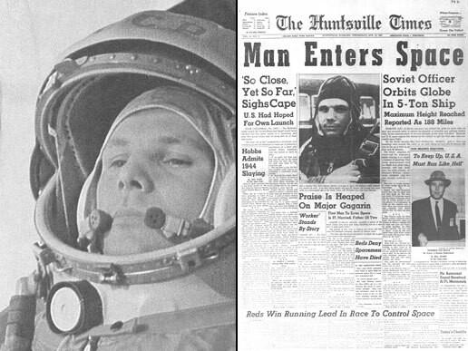 Juri Gagarin fot. NASA