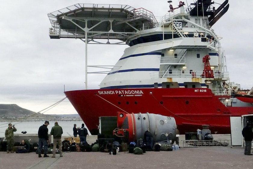 Odnaleziono argentyński okręt podwodny? Tajemniczy obiekt na dnie