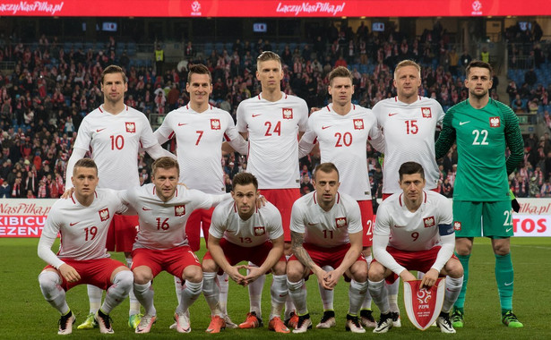 Oprócz Brazylii i Niemiec do faworytów zaliczane są także ekipy Hiszpanii i Francji. Na zdjęciu: Reprezentacja Polski