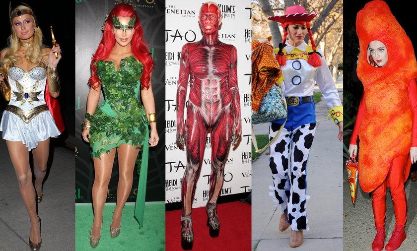 Najlepsze kostiumy Gwiazd na Halloween!