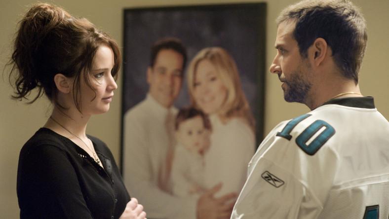 """""""Poradnik pozytywnego myślenia"""" –Jennifer Lawrence i Bradley Cooper"""