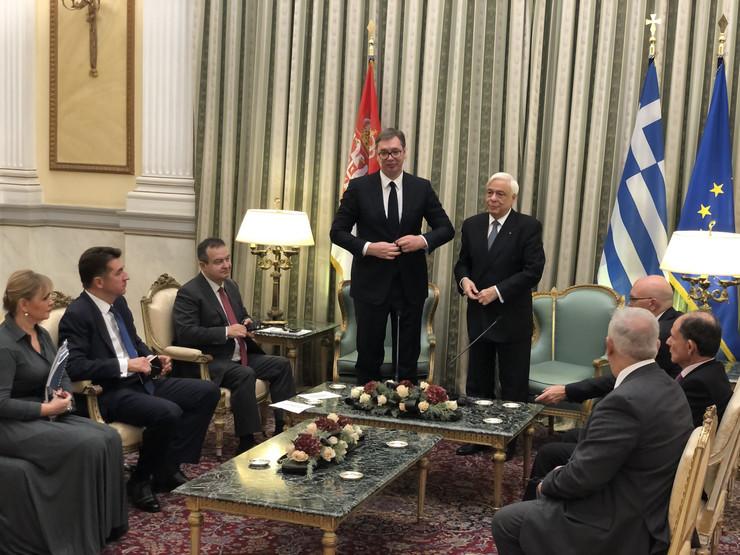 Aleksandar Vučić, Grčka, Zvanična poseta