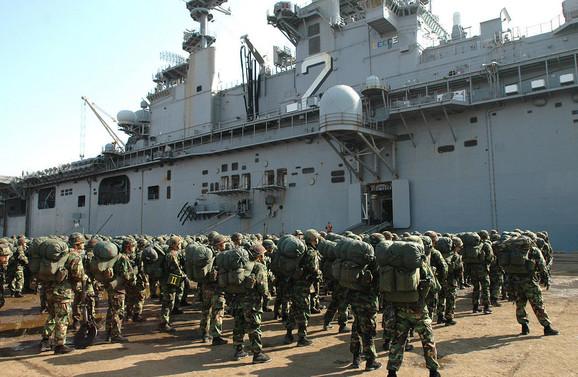 Marinci, Južna Koreja