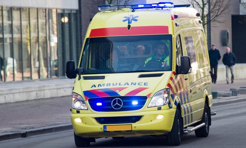 Mężczyzna staranował samochodem restaurację. Są ofiary i ranni