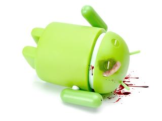 Google Android phone character