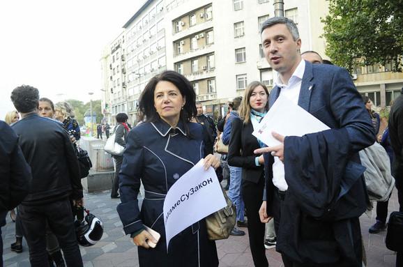 Sanda Rašković Ivić i Boško Obradović