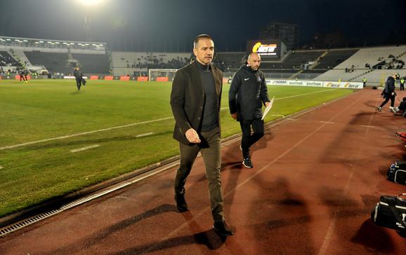 Zoran Bata Mirković nije više trener Partizana