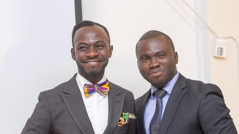 Okyeame Kwame and Jeremiah Buabeng at Rebrand 2015