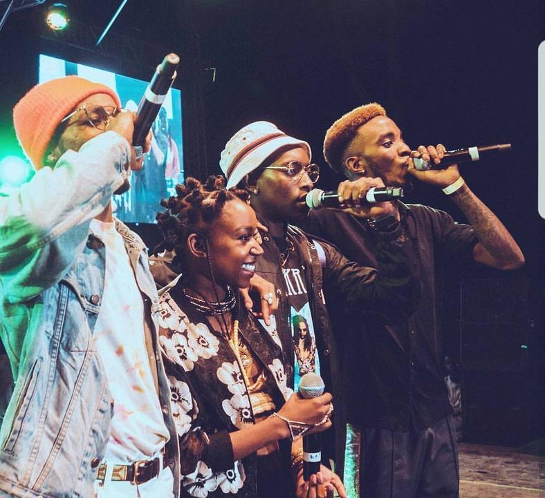 Camp Mulla performing (Instagram)