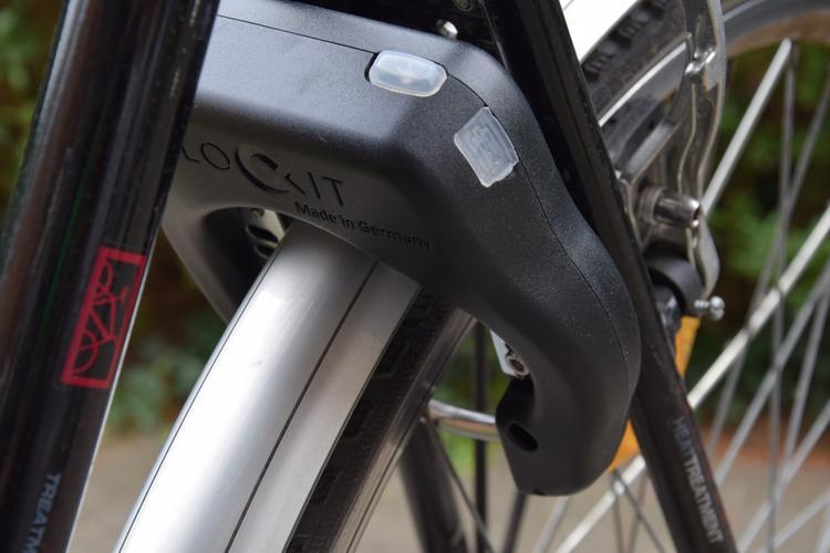 I LOCK IT+ + Handsender+ + Einsteckkette ist das elektronische Fahrradschloss