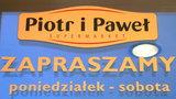 Szkolny sklepik pod szyldem Piotr i Paweł