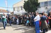 Protest radnika firme DES
