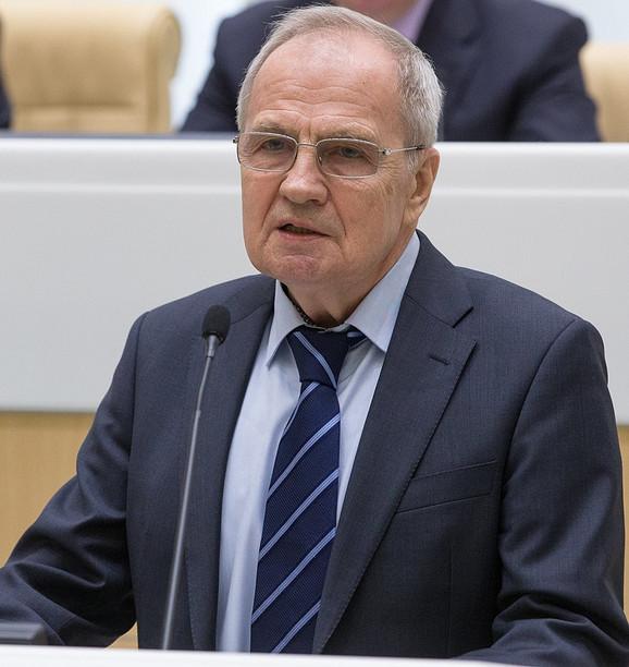 Valerij Zorkin, predsednik Ustavnog suda Rusije