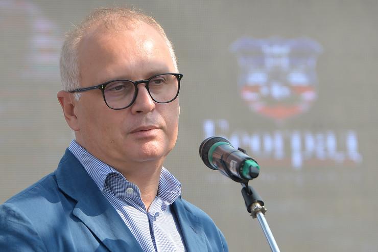 Sajam hrane i pića na Sava promenadi, Goran Vesić