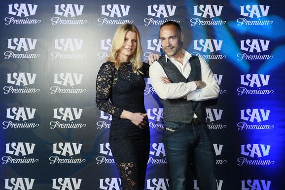 Srđan Timarov i Nataša Miljković