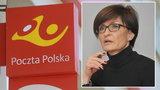 """Poczta Polska szykuje masowe zwolnienia, ale miejsce dla byłej szefowej """"Wiadomości"""" TVP znalazła? Co na to związkowcy?"""