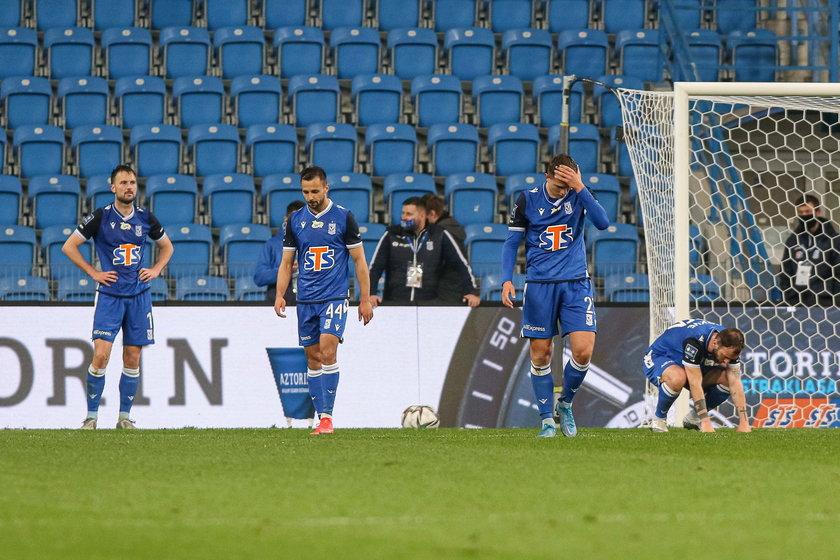 Piłkarze Lecha łapali się za głowę