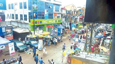 2 stolen phones sellers allegedly beat policeman in Computer Village