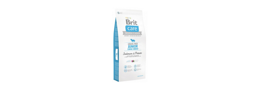 Brit Care Grain Free Junior Large Salmon & Potato