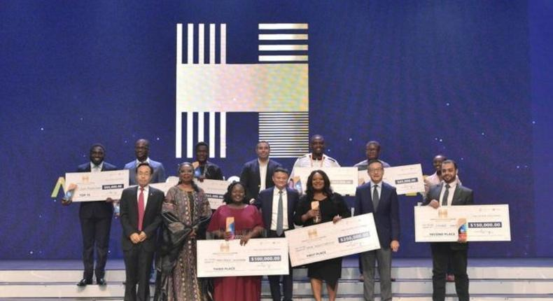 These 10 African entrepreneurs won billionaire Jack Ma's Netpreneur Awards, here's how much they received