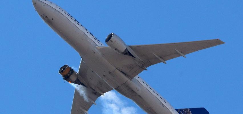 Groza na pokładzie Boeinga. Zapalił się silnik, pasażerowie modlili się o życie