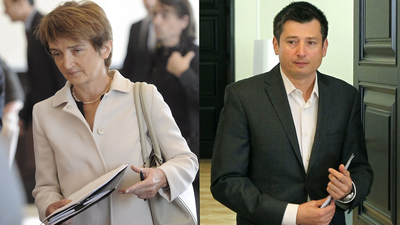 Maria Wasiak i Igor Ostachowicz