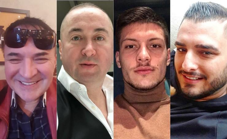 Mitar Mirić, Radiša Trajković Đani, Luka Jović, Darko Lazić