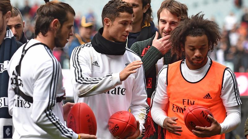 FBL-AUS-ESP-REAL MADRID-CUP