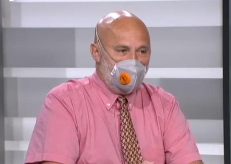Goran Belojević, specijalista higijene i šef Katedre za higijenu i medicinsku ekologiju Medicinskog fakulteta
