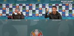Ronaldo zaszokował świat na konferencji! Gigantyczne straty