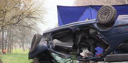 21-latek zginął pod kołami TIR-a. FILM