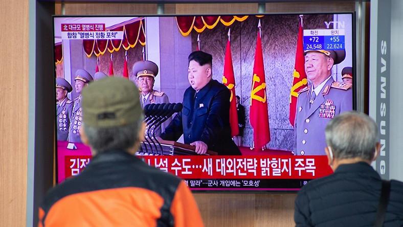 Kim Dzong Un, parada wojskowa, Północna Korea