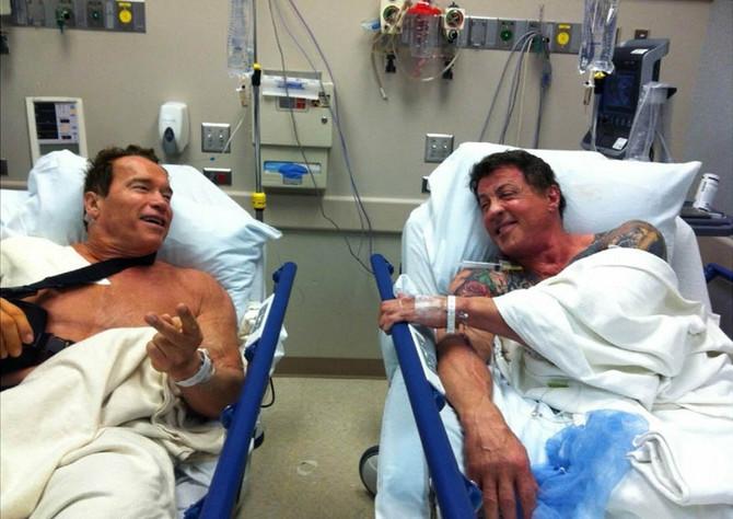 Terminator i Rambo jedan pored drugog