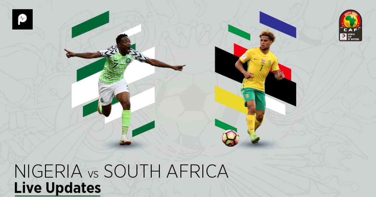 Nigeria Vs South Africa Live Follow Minute By Minute As