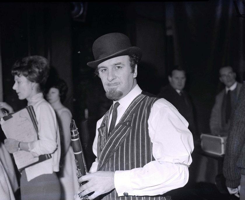 Acker Bilk w grudniu 1962 roku