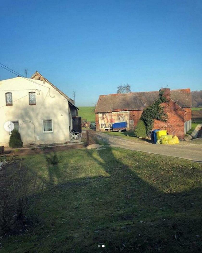 Gospodarstwo we wsi Machnice