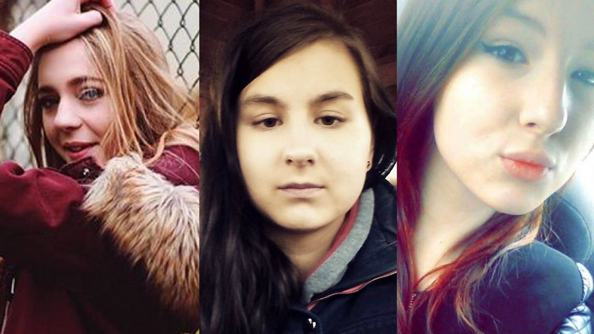 Klaudia, Dominika i Anna